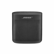 Bose SoundLink Color 2 Bluetooth Wireless Portable Speaker II Soft black Renewed