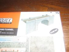 SUPERQUICK MODEL KIT - A15 - A BLUE BRICK BRIDGE / TUNNEL - 00 & HO GAUGE