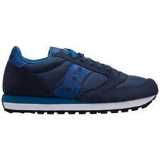 Saucony sneakers men jazz original 2044581 logo detail suede shoes trainers