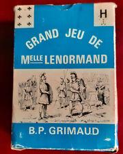 TAROT - GRAND JEU DE MADEMOISELLE LE NORMAND