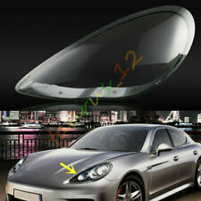 Left / Driving Side Headlight Cover Clear Pc+Glue For Porsche Panamera 2010-2013