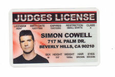 simon cowell American Idol GOT TALENT... plastic ID card Drivers License -