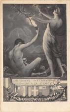 3047) GENOVA CONFERENZA ECONOMICA DI GENOVA NEL 1922 ILL. PICCONE.