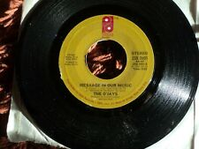 """The O'Jays - Message In Our Music 7"""" Single 1976 US pressing"""
