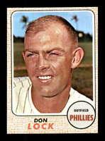 1968 Topps #59 Don Lock  NM/NM+ X1438577