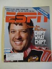 TONY STEWART ESPN magazine September 26, 2005