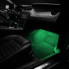 2 ampoules à LED vert éclairage sol /pieds pour Renault Talisman Modus Clio