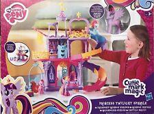 NEW HASBRO MY LITTLE PONY PRINCESS TWILIGHT SPARKLE PALACE PLAYSET Christmas