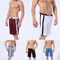 Fashion Men's Cotton Shorts Pants Gym Trousers Sport Jogging Casual Trousers Hot