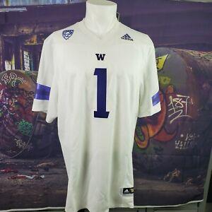Washington Huskies NCAA Pac 12 Adidas Jersey (Size XLarge) NWT A25