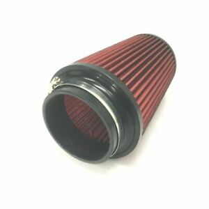 """K&N style pod filter 4"""" x  9"""" long tapered high performance (non genuine)"""
