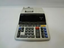 Sharp EL-2630P III 2 Color Printing Electronic Calculator