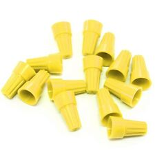 1000 pcs Yellow Screw On Wire Electrical Connectors Twist-On Easy Screw Pack