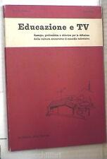 EDUCAZIONE E TV Ottobre 1962 Scuola televisiva Piazza Navona Educazione musicale