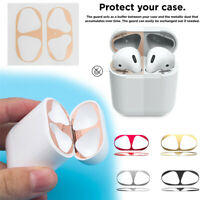 Dust Guard Earphone Protection Dust-proof Ultra-Thin Metal Cover For Airpods BIN