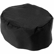Home & Kitchen Features Chefs Hat Breathable Mesh Top Skull Cap,Chat Black Size