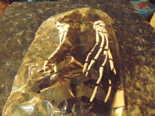 Skeleton Gloves Great for Hallowean New Adult Size