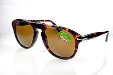 eb240d89ec Óculos De Sol Persol 649 Cor 25 57 Havana Marrom Polarizado tamanho 54 Novo