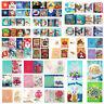 8X 5D DIY Christmas Greeting Cards Diamond Painting Embroidery Cross Stitch Kits