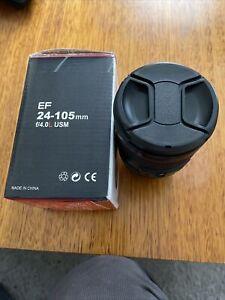canon ef 24-105mm f/4l usm lens