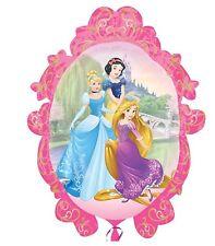 """DISNEY PRINCESS CINDERELLA BELLE AURORA ARIEL SNOW WHITE BIRTHDAY 36"""" BALLOON!"""