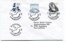 1989 KVIKKJOKK LINNEDAGAR ITER LAPPONICUM Sverige Augsburg Polar Antarctic Cover