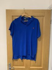 Ralph Lauren - Blue Custom Fit Horse Polo - Size Large
