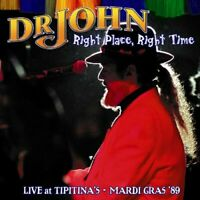 Dr. John - Right Place, Right Time: Live At Tipitinas [CD]