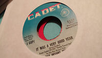 Ray Bryant Trio 45 It Was a Very Good Year/Gotta Travel On Cadet Funk Soul Jazz
