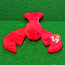TY Beanie Baby PINCHERS The Lobster MWMT Retired 1993 P.V.C. - Free Shipping