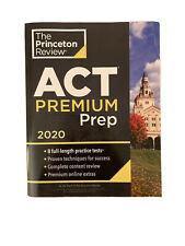 Princeton Review ACT Premium Prep, 2020: 8 Practice Tests...PAPERBACK by The ...