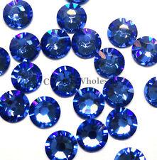 288 Swarovski 2088 30ss crystal flatback rhinestones ss30 SAPPHIRE (206)
