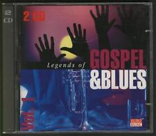 LEGENDS OF GOSPEL & BLUES 2-CD Mahalia Jackson Muddy Waters John Lee Hooker