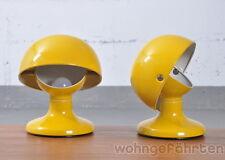2x Flos Tischleuchte Jucker, gelb,  Design Tobia Scarpa 1963