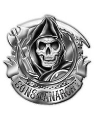 SONS OF ANARCHY REAPER BIKER BELT BUCKLE
