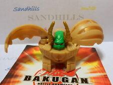 Bakugan Gargonoid Tan Subterra B2 Bakuswap 520G & cards