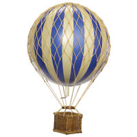 Authentic Models 8.5cm Hot Air Balloon - Floating the Skies - Various Colours
