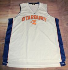 New York Knicks Starbury Stephon Marbury #3 Sewn Stitched Basketball Jersey 2XL