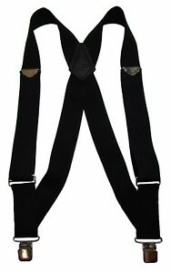 New Welch Men's Big & Tall Elastic Clip-End Trucker Suspenders