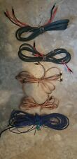 New listing Audioquest Granite Biwires, Radio Shack Biwire Gold Plated Ends?, & Extron Wire