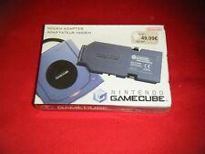 Modem Adaptateur  Neuf  pour Console Nintendo GameCube Version PAL