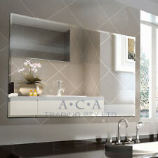 ACA Luxury 1500x900mm Mirror Bathroom Vanity Wall Mounted Bevel Edge Gorgeous