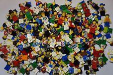 LEGO 12  MINIFIGURES + CAP/HAIR   RANDOM PACK OF 12 LEGO  FIGURES NEW!