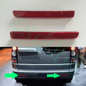 2x For Land Rover Discovery 3 4 2005-13 Rear Left+Right Fog Tail Light Reflector