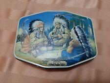 Vintage Horner Tin.  Smoking The Peace Pipe