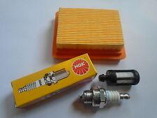SERVICE KIT FILTER SPARK PLUG STIHL FS300 & FS350 BRUSHCUTTER 4134-141-0300  FS