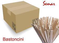 500 Pz Bastoncini - Bacchettine per Zucchero Filato 30 cm No Punta Norme CEE