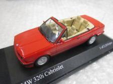 Minichamps 1/43 BMW 320i Cabriolet 1989 red