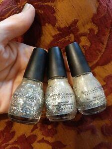 3 Sinful Colors Holiday Nail Polish 1 Silver Crush 1585 2 Gold Star Studded 1568