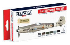 Hataka AS03-Late luftwaffer Segunda Guerra Mundial conjunto De Pintura Acrílica - 6 X 17ml Botellas-T48 Post